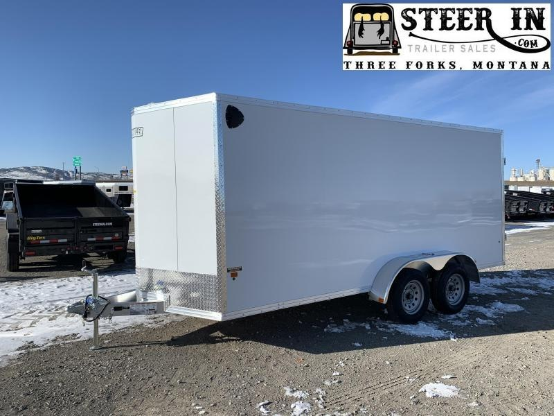 2020 EZ Hauler 7X16' Enclosed Cargo Trailer