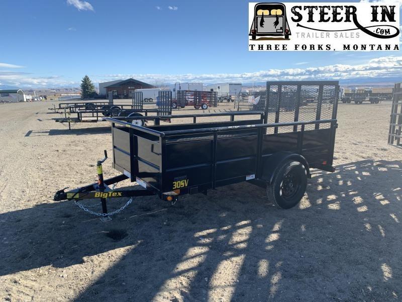 2020 Big Tex 5x10' Vangaurd Utility Trailer