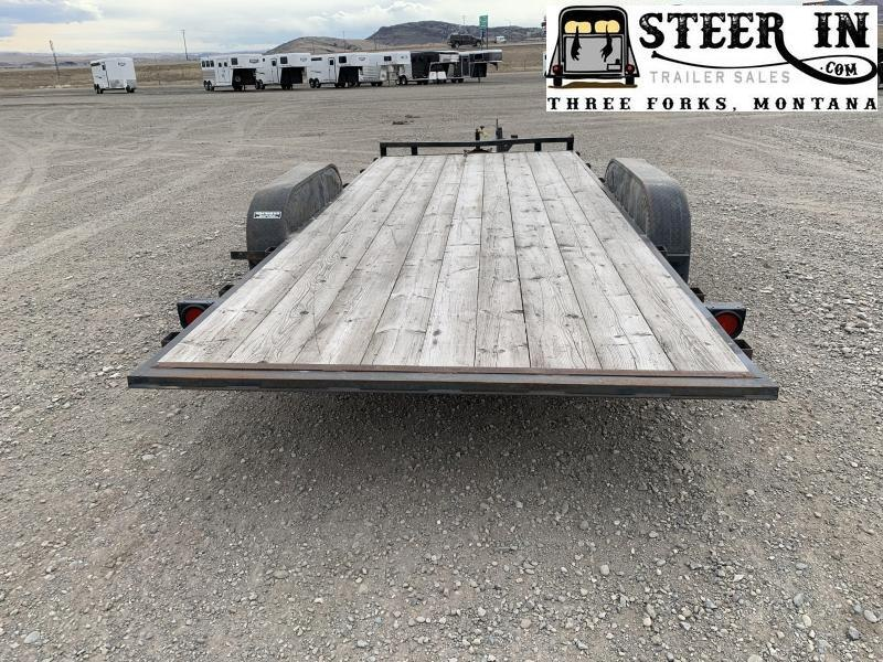 1998 H&H 18' TILT Car / Racing Trailer