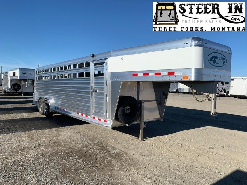 2019 4-Star 24' Stock Trailer