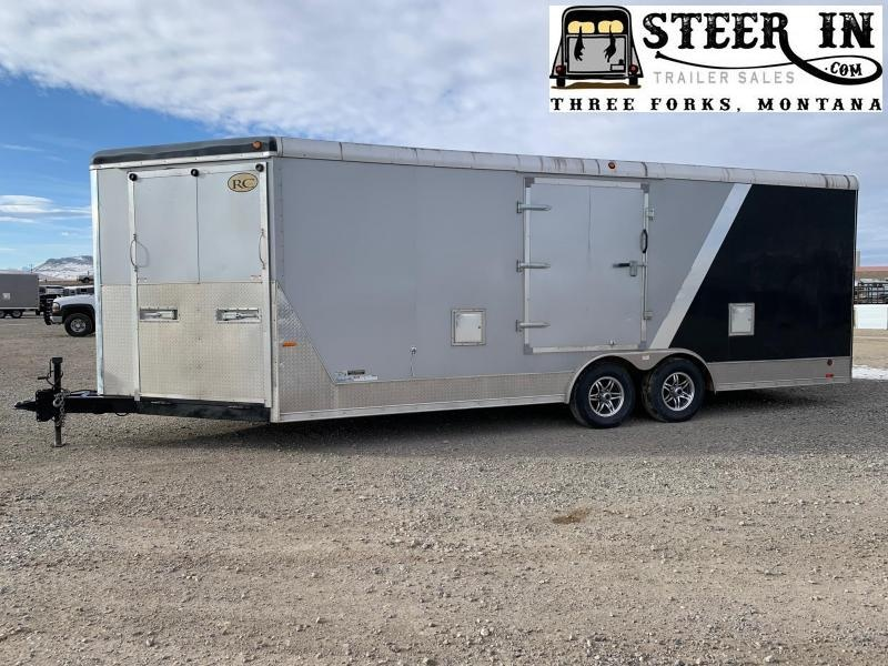 2014 RC 26' (22+4.5) Enclosed Snowmobile Trailer