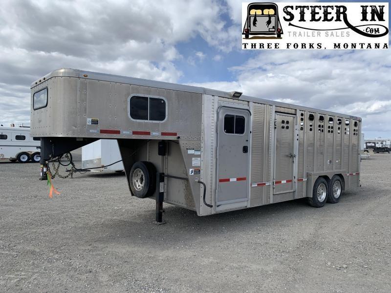 2018 Wilson 22' Stock/Combo Livestock Trailer