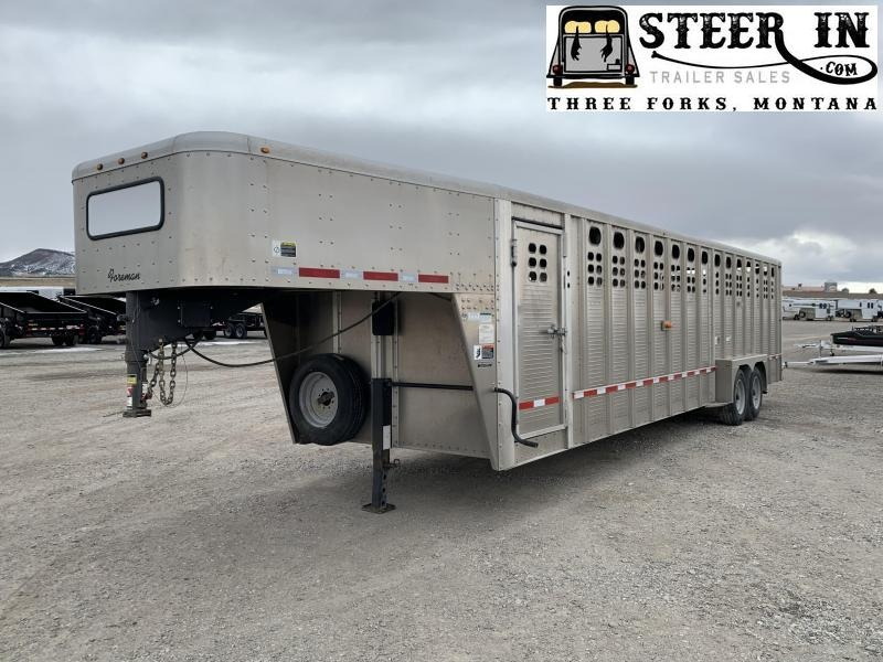 2017 Willson FOREMAN Livestock Trailer