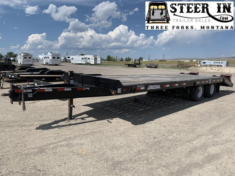 2006 Towmaster  28' (23+5) CONTRAIL Equipment Trailer