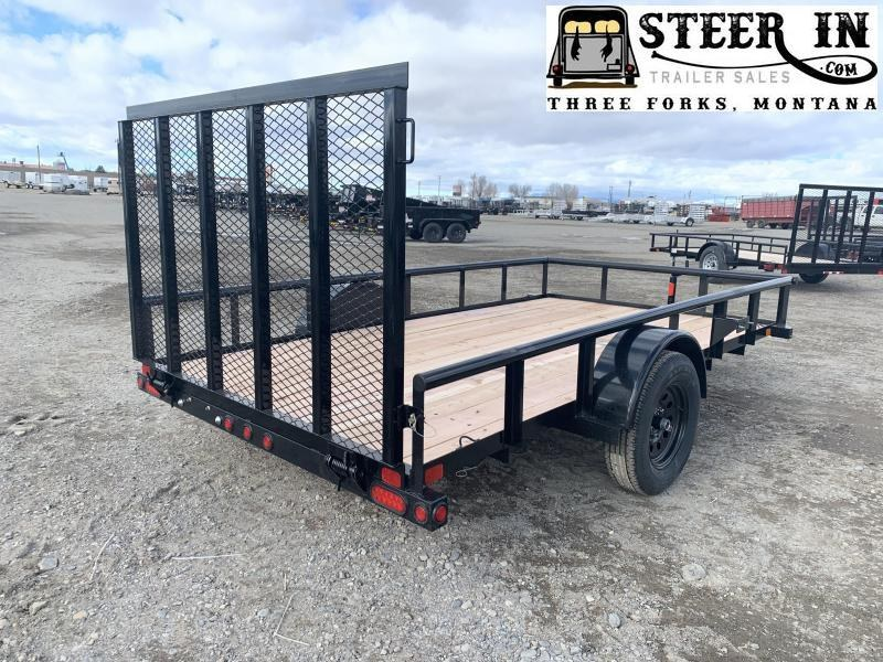 2020 Big Tex 35ES 12' Utility Trailer