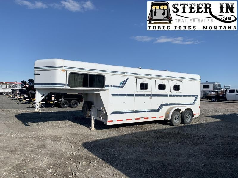 1994 Sundowner Trailers 3H GN EXECUTIVE Horse Trailer