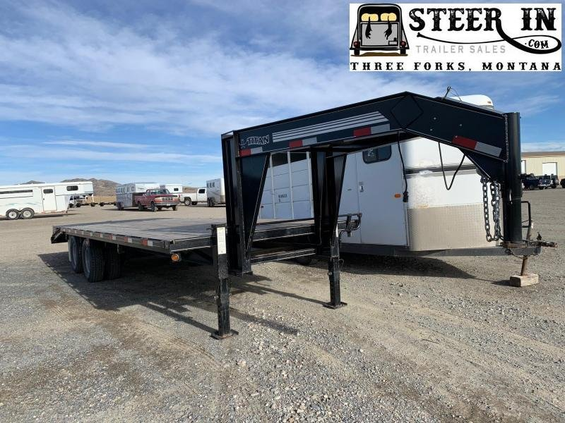 2007 Titan 25' (20+5) Flatbed Trailer
