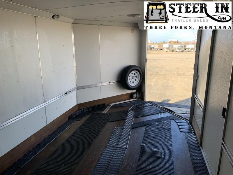 """2008 Triton 27'9"""" Enclosed Snowmobile Trailer"""