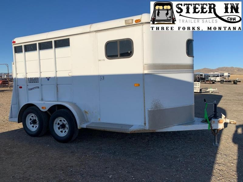 1994 Logan Coach 2H BP Horse Trailer