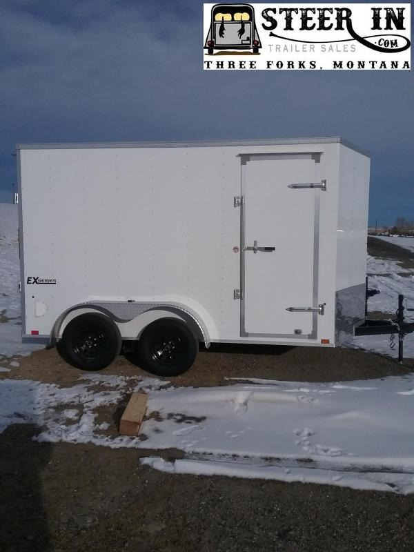 2020 Cargo Express 7X12' Enclosed Cargo Trailer