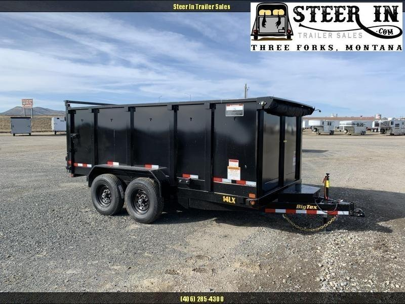 2020 Big Tex  14LX 14' W-4' SIDES Dump Trailer