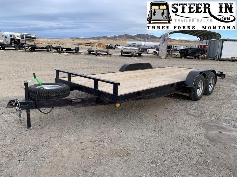 2019 Eagle American 18' Equipment Trailer