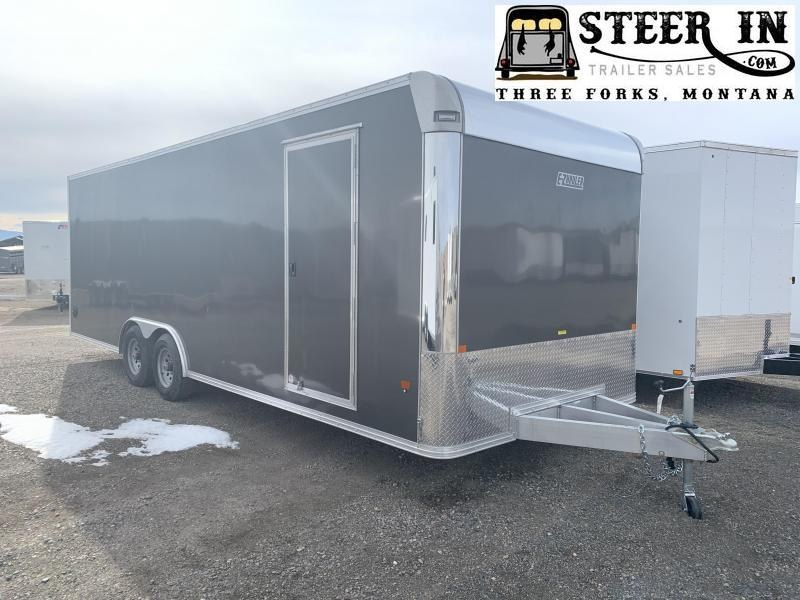 2020 EZ Hauler 8X24' Enclosed Car / Racing Trailer
