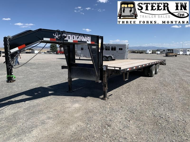 2014 Titan 30' (25+5) Ruff Neck Flatbed Trailer