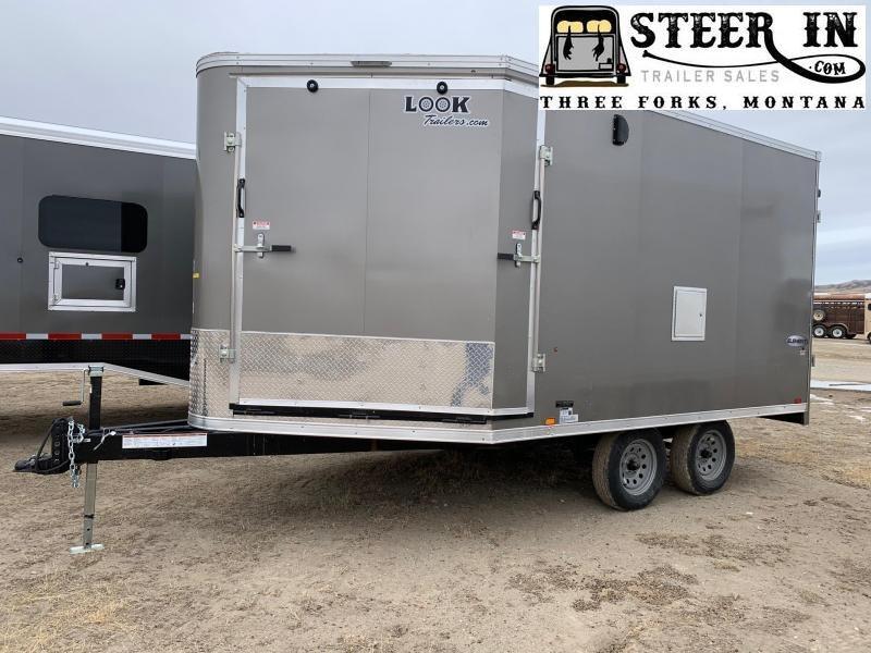 2021 Look 8.5x17' Enclosed Snowmobile Trailer