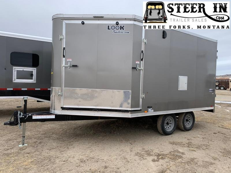 2021 Look 8.5x17' Enclosed Snowmobile Trailer