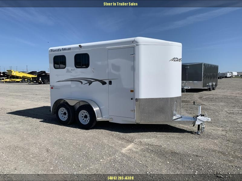 2020 Trails West Adventure MX II 2-Horse Horse Trailer