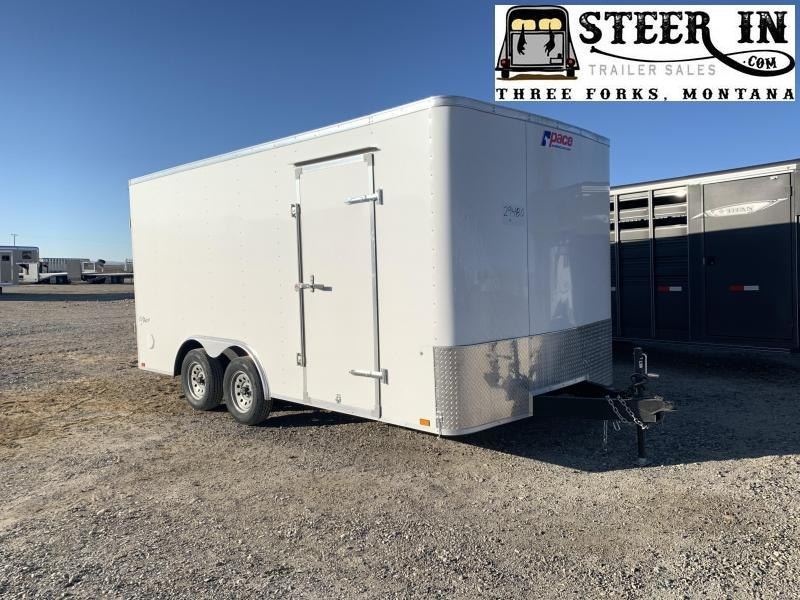 2020 Pace American 8.5X16' Enclosed Cargo Trailer