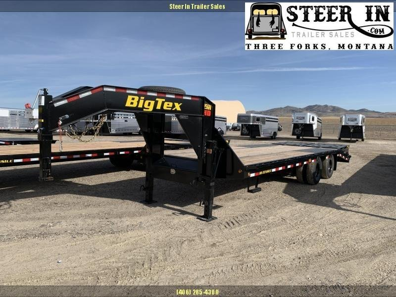 2020 Big Tex 25GN 25' (20+5) Flatbed Trailer