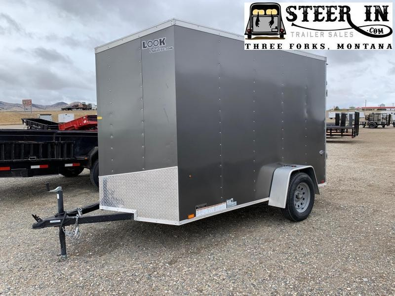 2019 Look 6X10' Enclosed Cargo Trailer