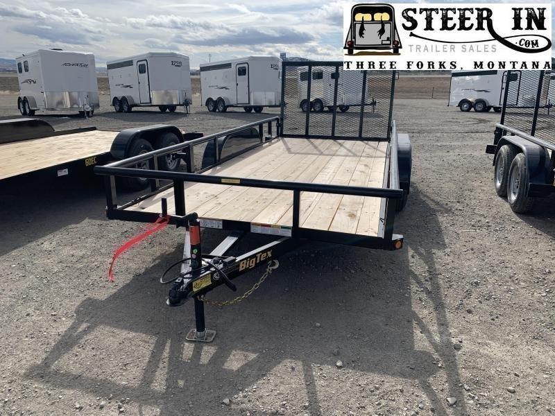 2020 Big Tex 60ES 14' Utility Trailer
