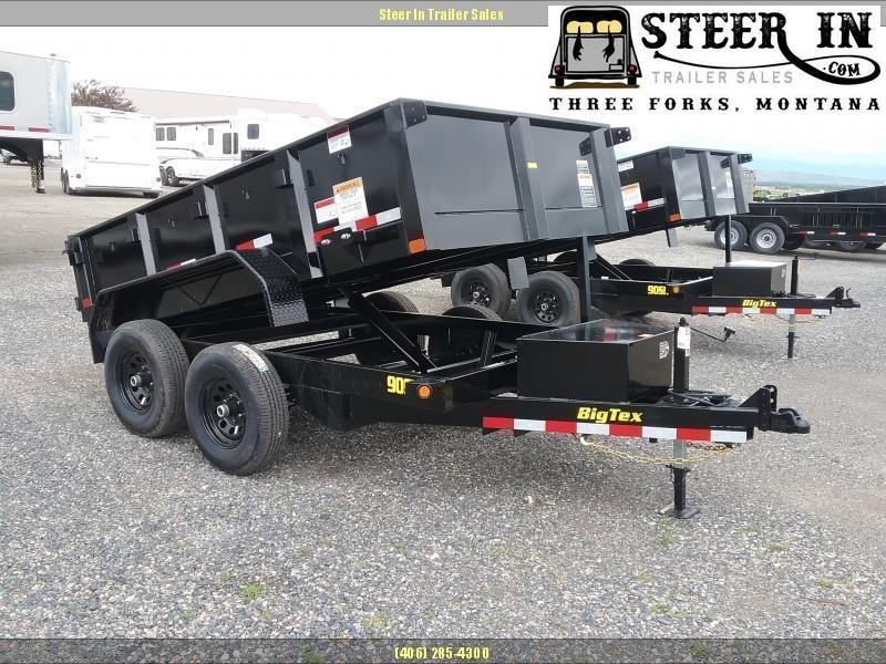 2020 Big Tex 90SR 10' Dump Trailer
