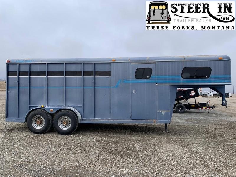 1993 Trails West 18' Stock/Combo Trailer