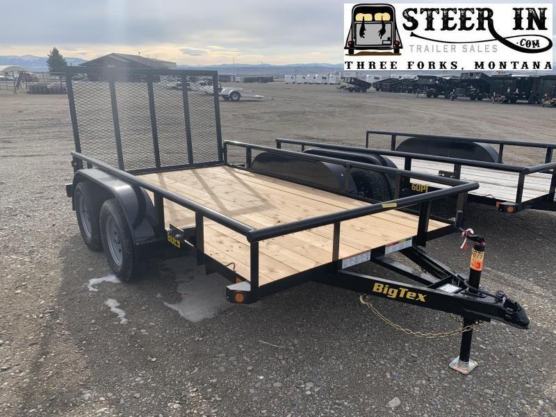 2020 Big Tex 60ES 12' Utility Trailer