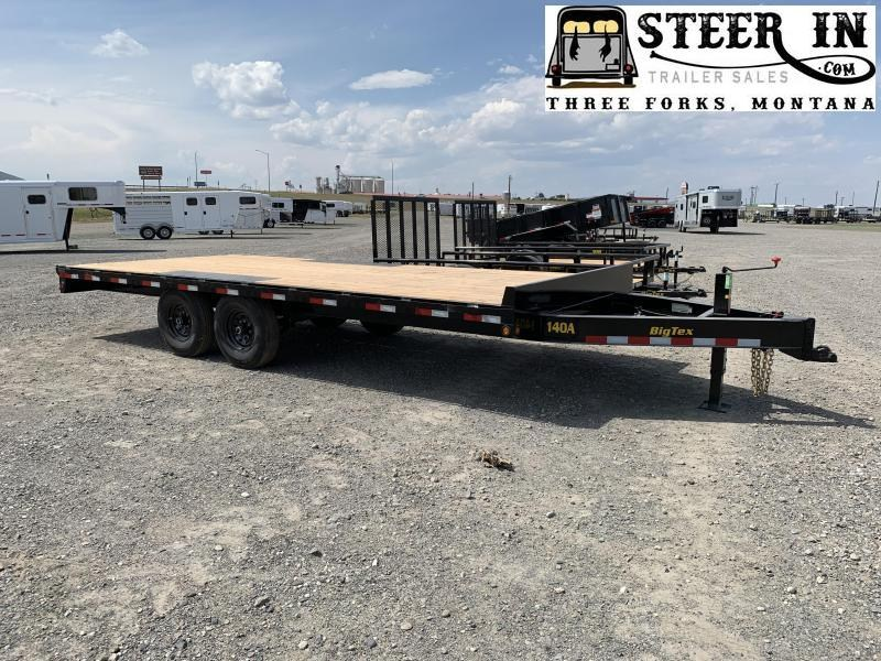 2020 Big Tex 20' 14OA 20' Equipment Trailer