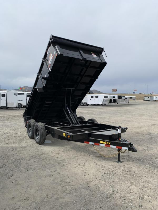 2020 Big Tex 14LX 7x14' Dump Trailer
