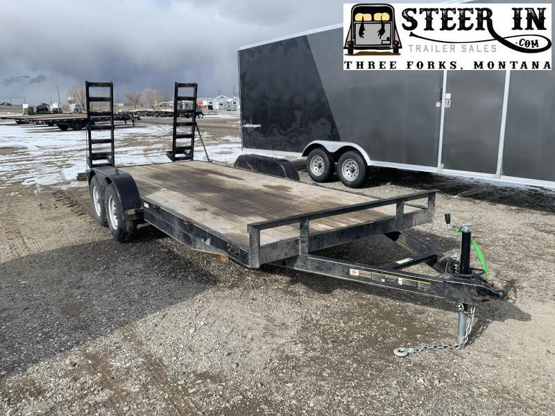 2019 Carry-On 18' Utility Trailer w/Ramps