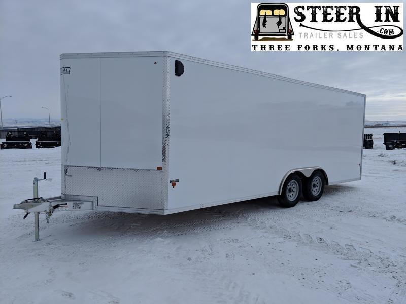 2019 EZ Hauler 8X20 Enclosed Cargo Trailer