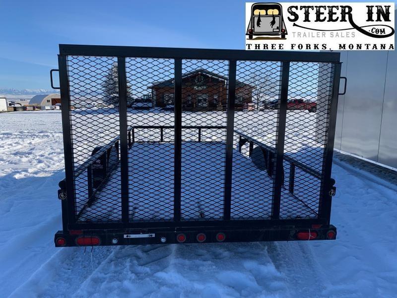 2015 Big Tex 14' 35SA Utility Trailer