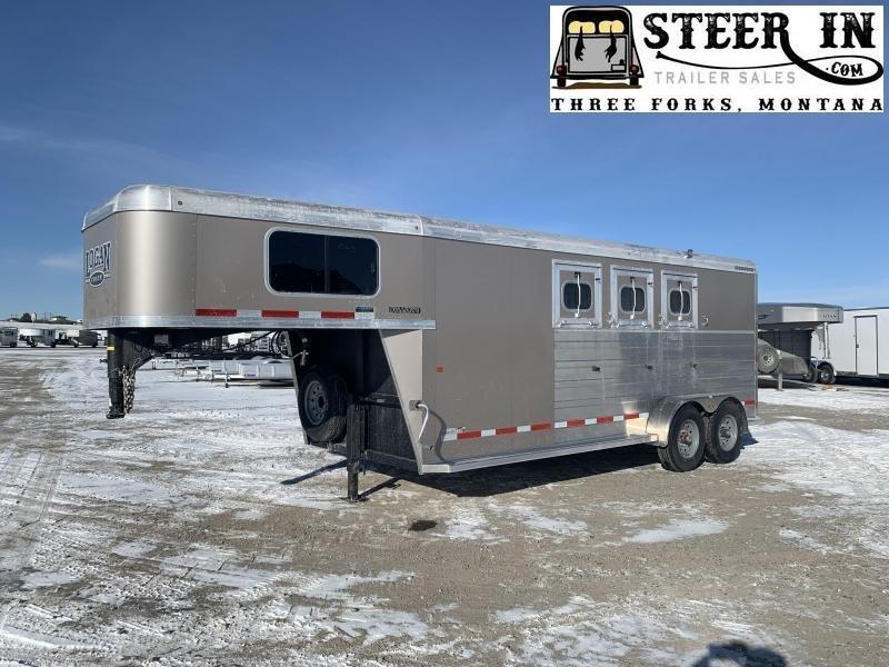2020 Logan BULLSEYE 3H GN Horse Trailer