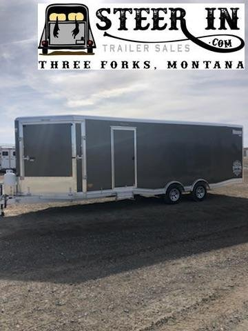 2020 Mission 8.5X24'  Snowmobile Trailer