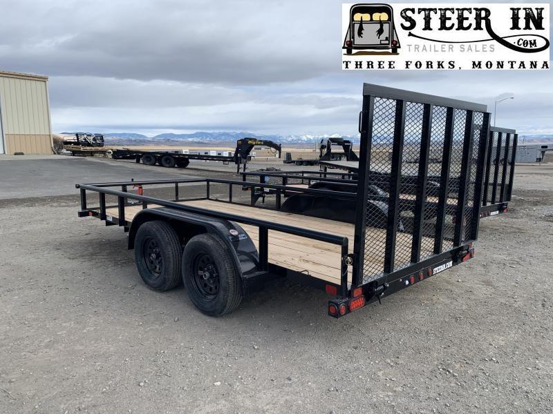 2020 Big Tex 60PI 14' Utility Trailer