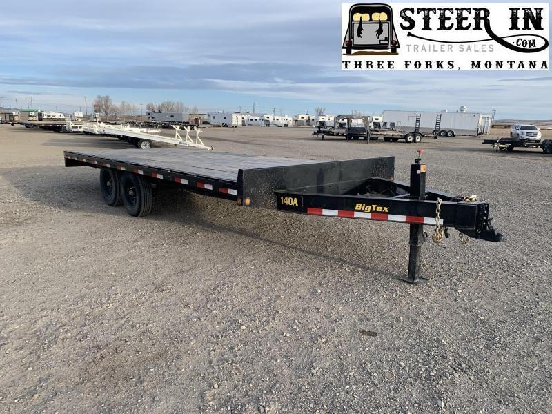 2019 Big Tex 14OA 20'  Equipment Trailer