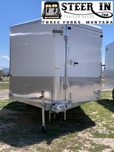 2019 Mission 22' Enclosed Snowmobile Trailer