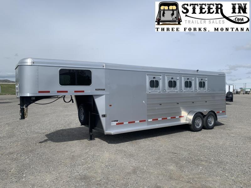 2020 Logan Coach BULLSEYE 4H GN Horse Trailer