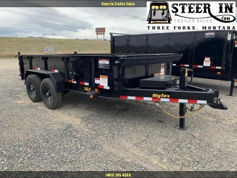 2020 Big Tex 14LP Low Profile 7x14 Dump Trailer