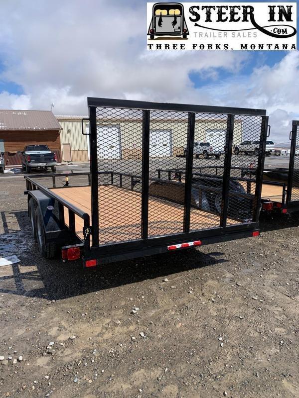 2020 Big Tex 60ES 16' Utility Trailer