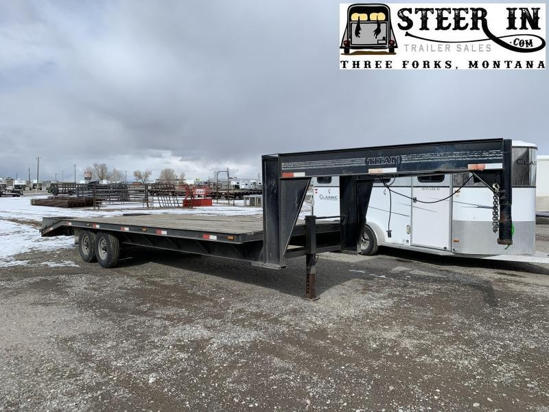 1998 Titan Trailers Flatbed Flatbed Trailer