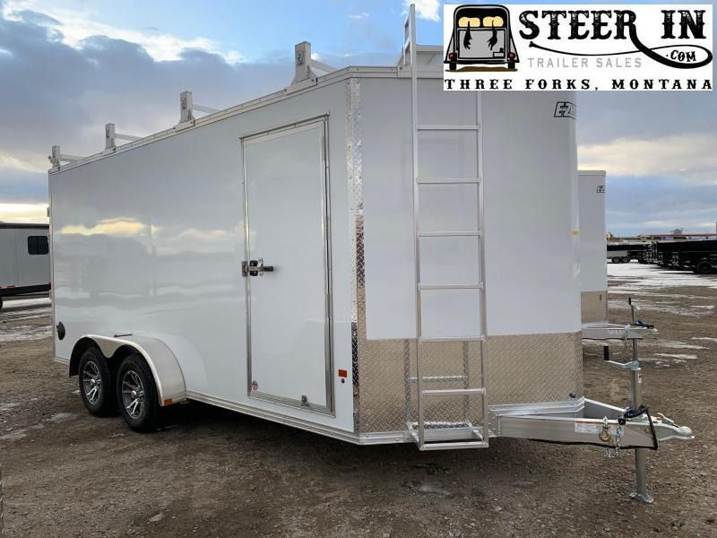 2020 EZ Hauler 7X16 UCP Enclosed Cargo Trailer