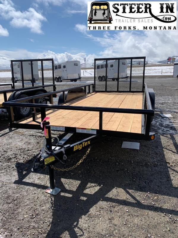 2020 Big Tex 60ES 16' Utility Trailer