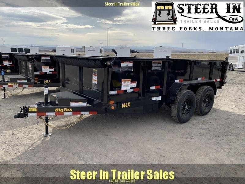 2020 Big Tex 14LX 14' Dump Trailer