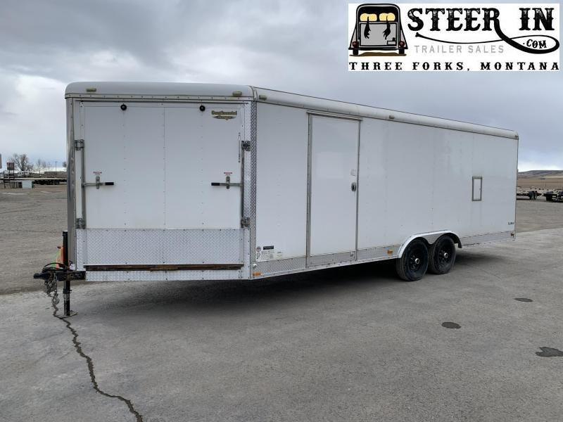 2014 Continental Cargo 27' Snowmobile Trailer