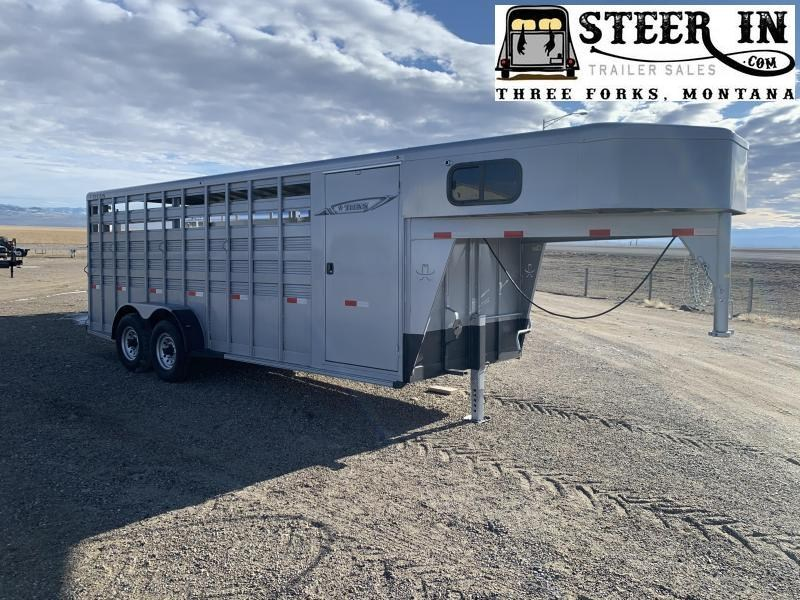 2020 Titan 20' Stock/Combo Trailer