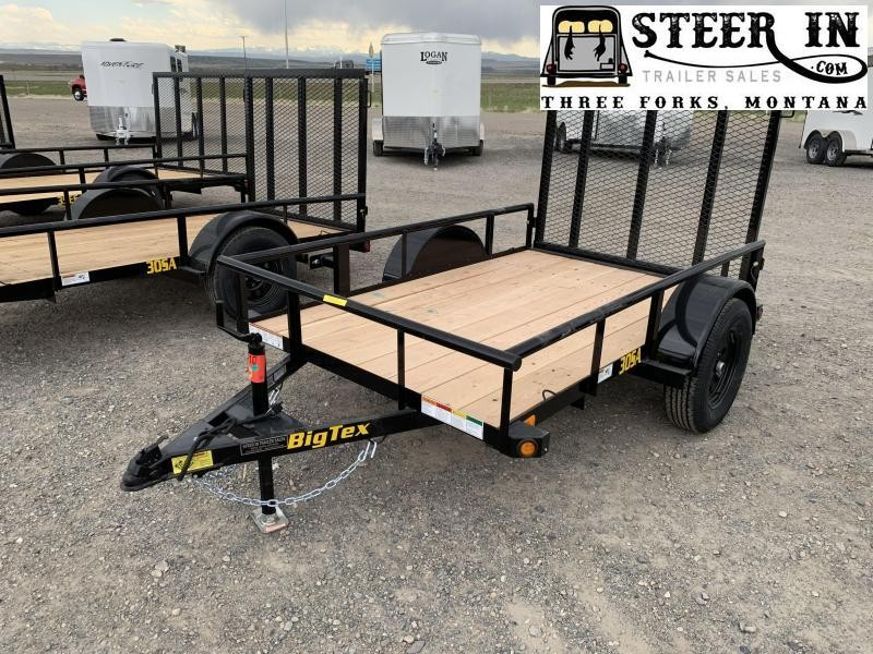 2020 Big Tex 30SA - 5X8'  Utility Trailer