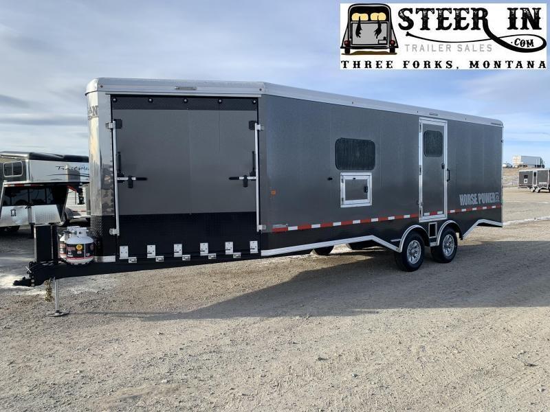 2020 Logan 29' Pro BP HorsePower Snowmobile Trailer