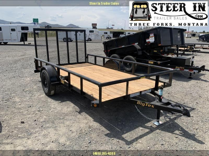 2020 Big Tex 35SA 12' Utility Trailer
